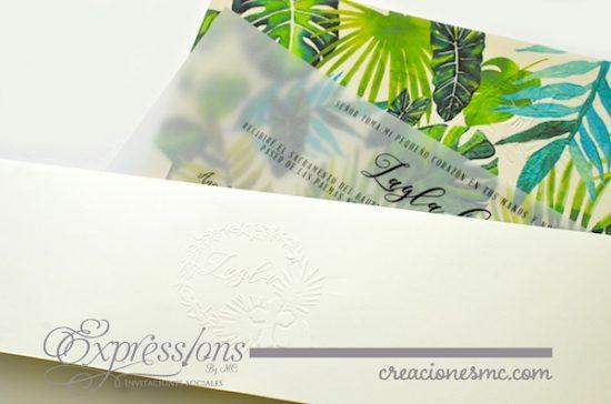 Expressions invitaciones bautizo logo diseño tropical e1516251214857 - Invitaciones Bautizo y Comunión