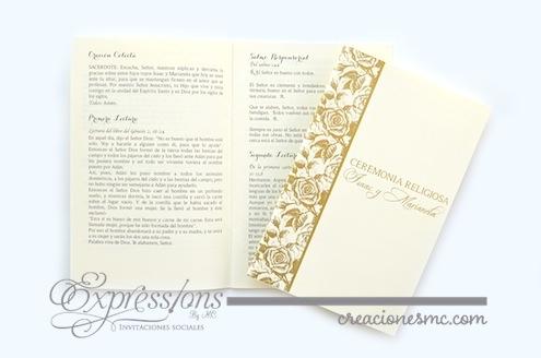 complementos de tarjetería expressions invitaciones misal de boda - Complementos de tarjetería