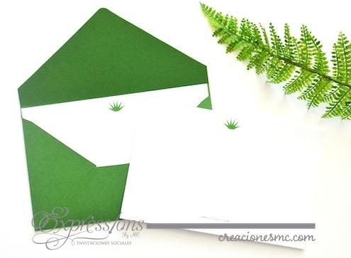 complementos de tarjetería expressions invitaciones tarjeta y sobre de agradecimiento - Complementos de tarjetería