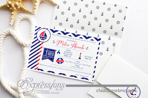 expressions invitaciones bautizo y comunion modelo Alexander1 - Invitaciones Bautizo y Comunión