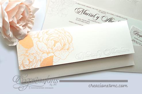 expressions invitaciones boda mod. Marisol3 - Invitaciones Boda