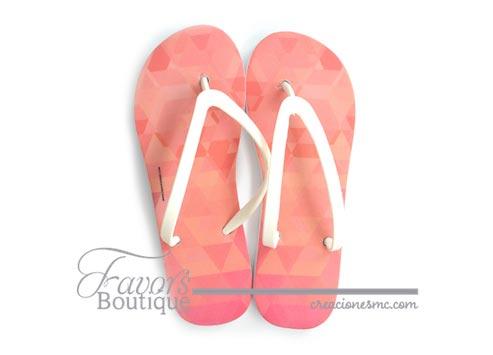 creaciones mc sandalias a todo color boda diseño geometrico - Sandalias