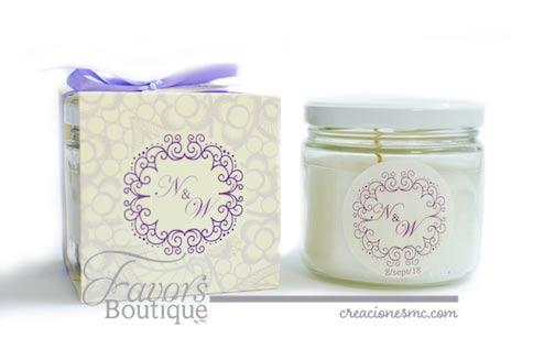 creaciones mc recuerdos boda velas aromaticas - Recuerdos Boda