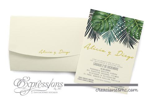 expressions invitaciones boda alicia y diego - Invitaciones Boda