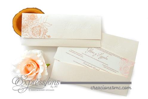 expressions invitaciones boda marisol - Invitaciones Boda