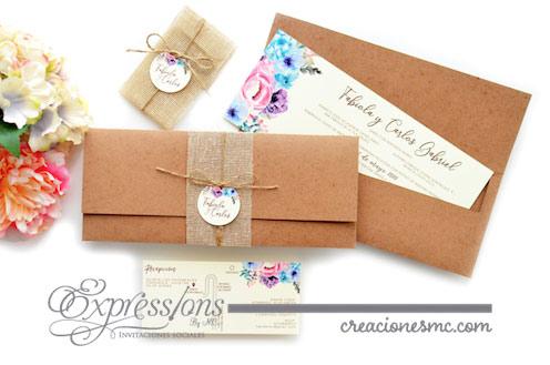 expressions invitaciones de boda fabiola y carlos - Invitaciones Boda