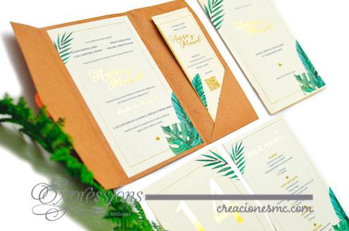 expressions invitaciones boda aurora y manuel - Invitaciones Boda
