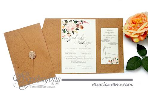 expressions invitaciones boda gabriela y sergio - Invitaciones Boda
