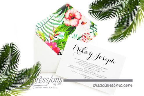 expressions invitaciones boda mod erika y joseph - Invitaciones Boda