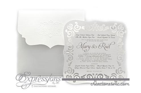 expressions invitaciones boda mod - Invitaciones Boda