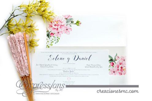 expressions invitaciones boda selene y daniel - Invitaciones Boda