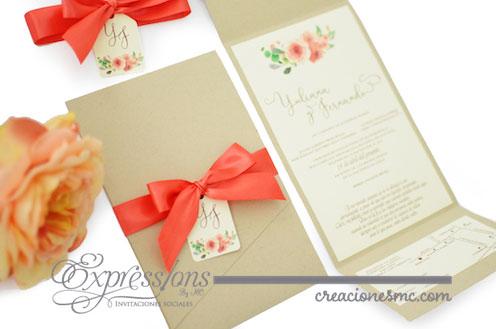 expressions invitaciones boda yuliana y fernando 2 - Invitaciones Boda