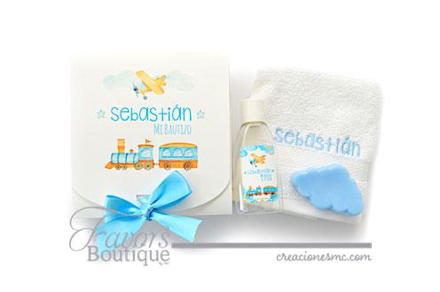 creaciones mc recuerdos bautizo kit toalla crema y jabon - Recuerdos Baby Shower